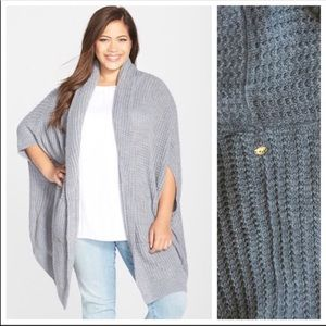 Seven7 by Melissa McCarthy cable knit sweater